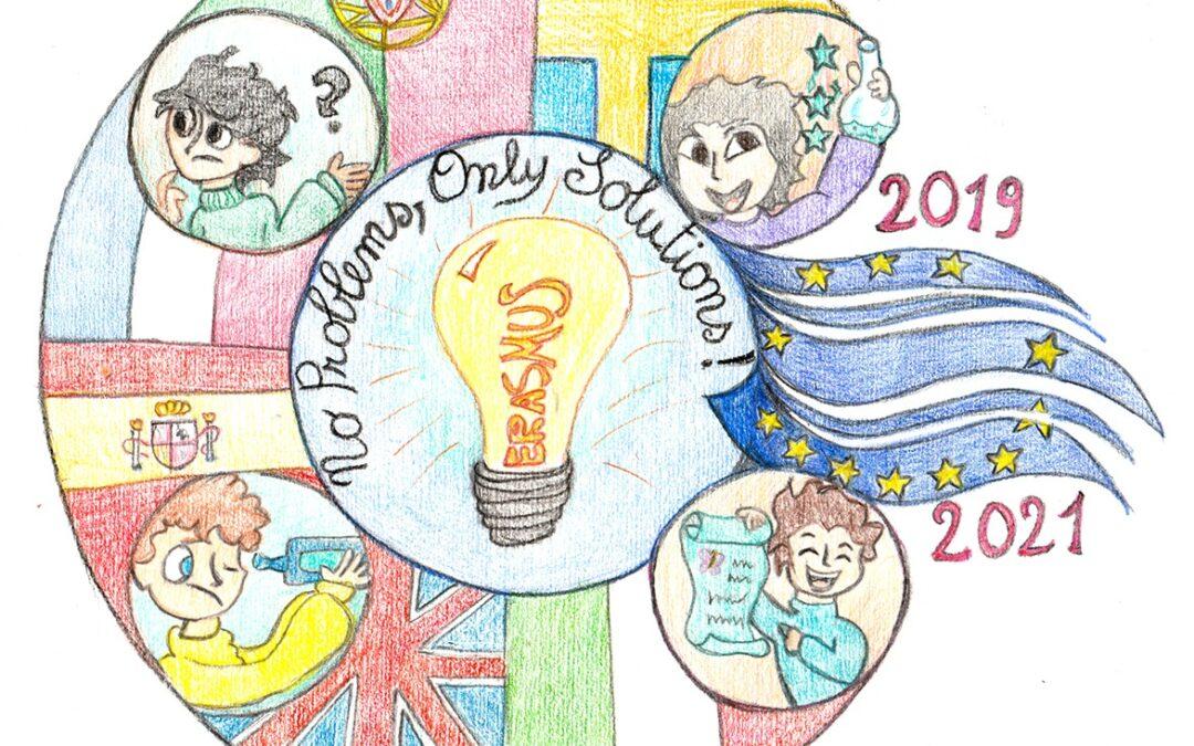 Progetto Erasmus+- Logo Competition e i tre loghi finalisti per l'Italia