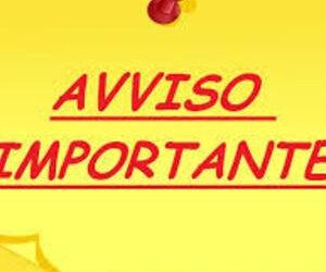 AVVISO URGENTE: SOSPENSIONE ATTIVITA' DIDATTICHE DAL GIORNO 27 FEBBRAIO AL 1 MARZO 2020